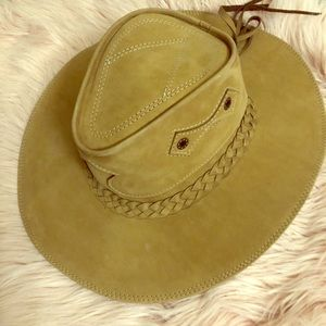 Accessories - Leather hat